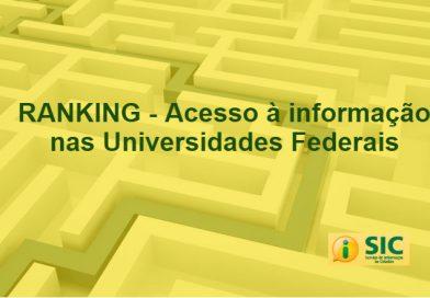UFSCar lidera o Ranking do Acesso à Informação das Universidades federais