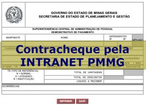 contracheque pmmg