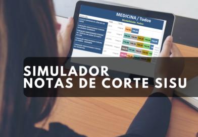 Simulador das Notas de Corte Enem Sisu 2018
