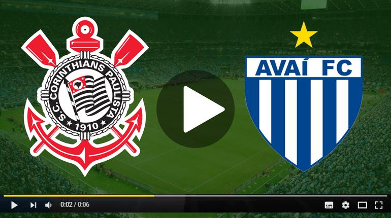 Assistir Corinthians x Avaí ao vivo hoje Tudo TV