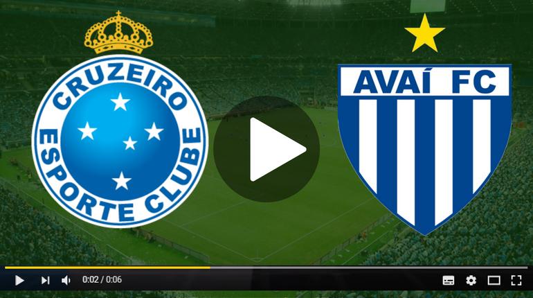 Assistir Cruzeiro x Avaí ao vivo hoje Tudo TV
