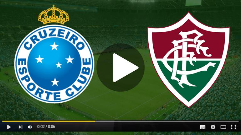 Assistir Cruzeiro x Fluminense ao vivo hoje Tudo TV