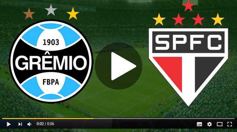 Assistir Grêmio x São paulo ao vivo hoje Tudo TV