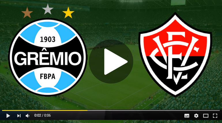 Assistir Grêmio x Vitória ao vivo hoje Tudo TV