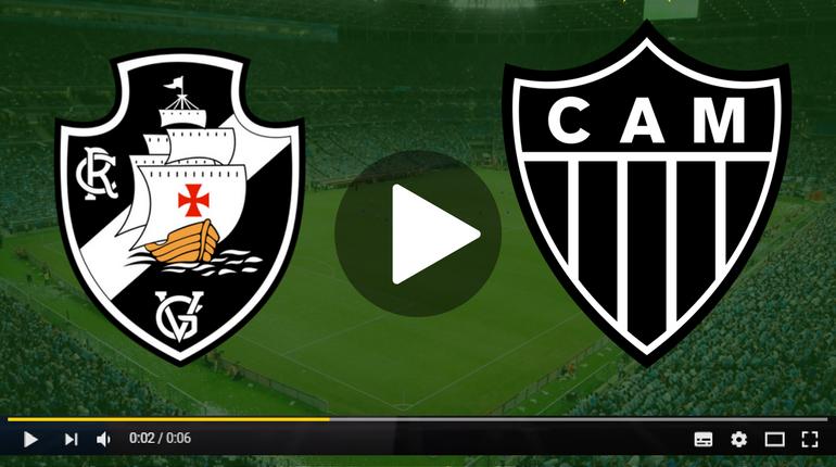 Assistir Vasco x Atlético Mineiro ao vivo hoje Tudo TV
