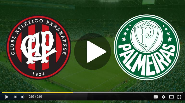 Assistir Atlético Paranaense x Palmeiras ao vivo hoje Tudo TV