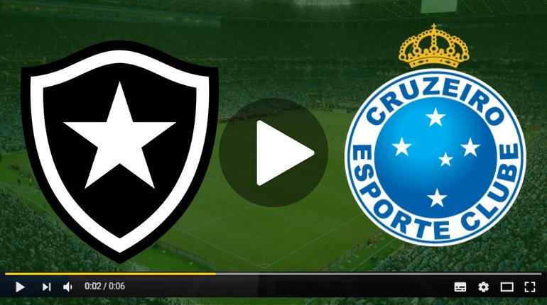 Assistir Botafogo x Cruzeiro ao vivo hoje Tudo TV