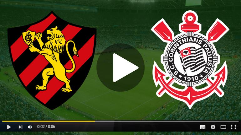 Assistir Sport x Corinthians ao vivo hoje Tudo TV