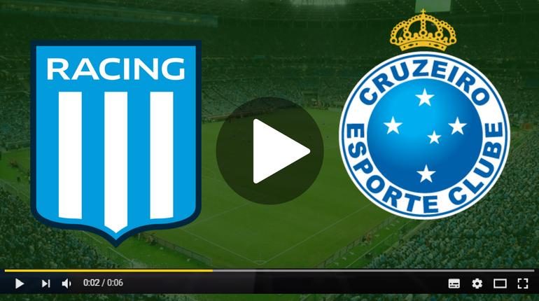Assistir Racing x Cruzeiro ao vivo hoje pela internet