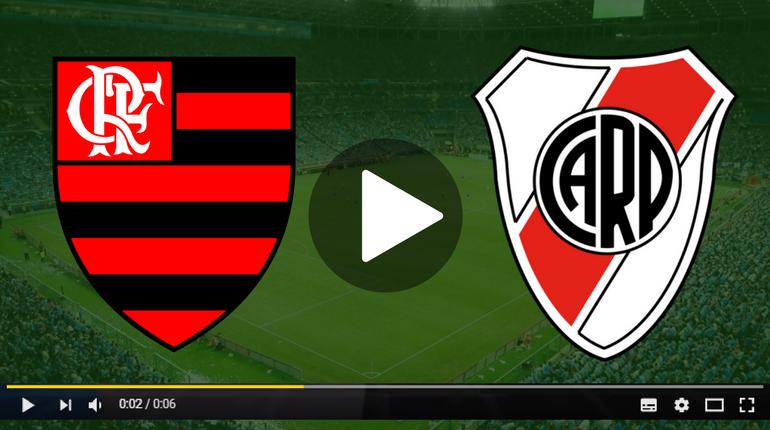 assistir Flamengo x River Plate ao vivo hoje