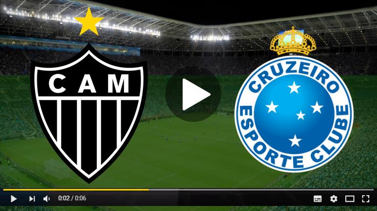Assistir Atlético-MG x Cruzeiro ao vivo hoje pela internet