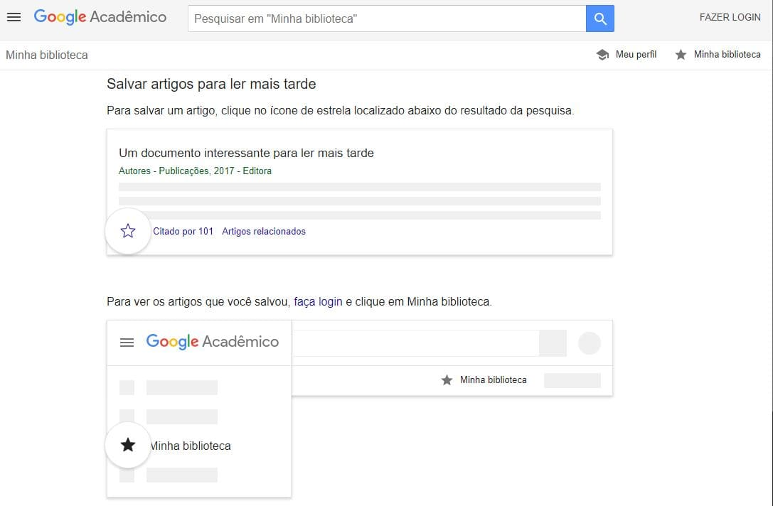 Biblioteca Google Acadêmico
